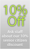 10% Senior Discount at Broad Lane Vets